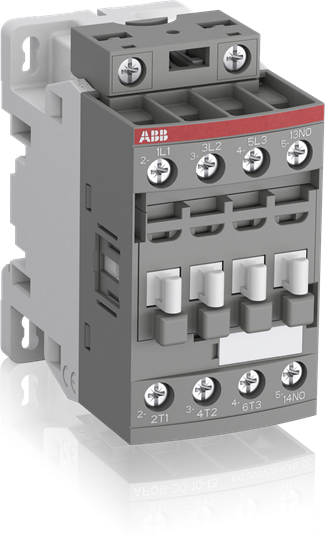 Thomas & Betts AF16-30-10-12 48 to 130 VAC/VDC 30 Amp 1NO 3-Pole Non-Reversing Contactor