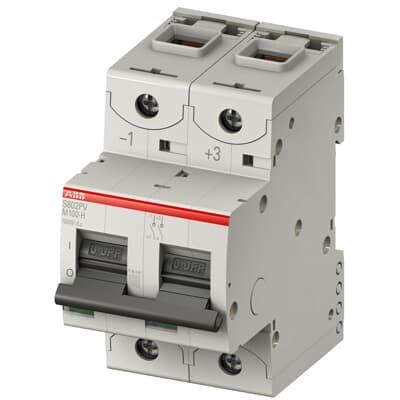 Interrupteur-sectionneur polarisé S800PV-M-H