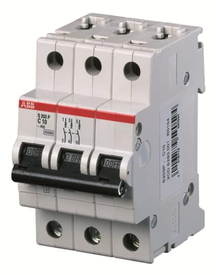 3p 50 A 6ka ABB s203-c50 sauvegarde automate C-char.