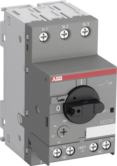 ABB HKF1-11 Auxiliary Contacts use for MS116 Manual Motor Starter