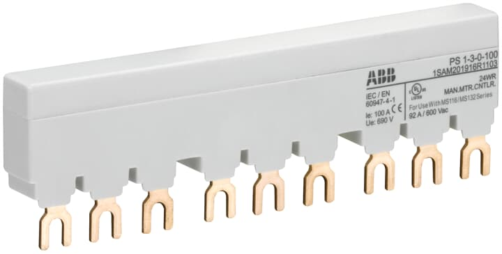 ABB PS1-3-0-100 MS116/132 BUSBAR 92