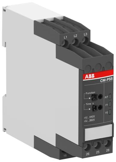 ABB CM-PSS.41S Three-phase monitoring relay 2c//o 0,0.1-30s 1SVR730784R3300
