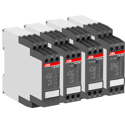Thermistor motor protection relays Measuring and monitoring relays