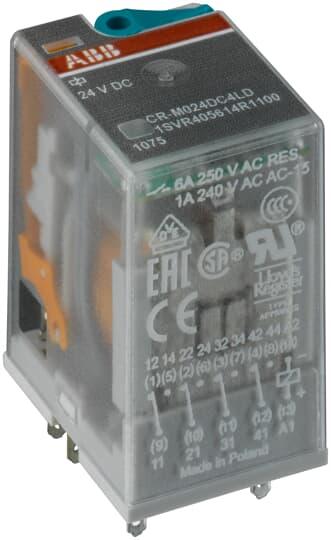 ABB 1SVR405614R1100 CR-M024DC4LD PL