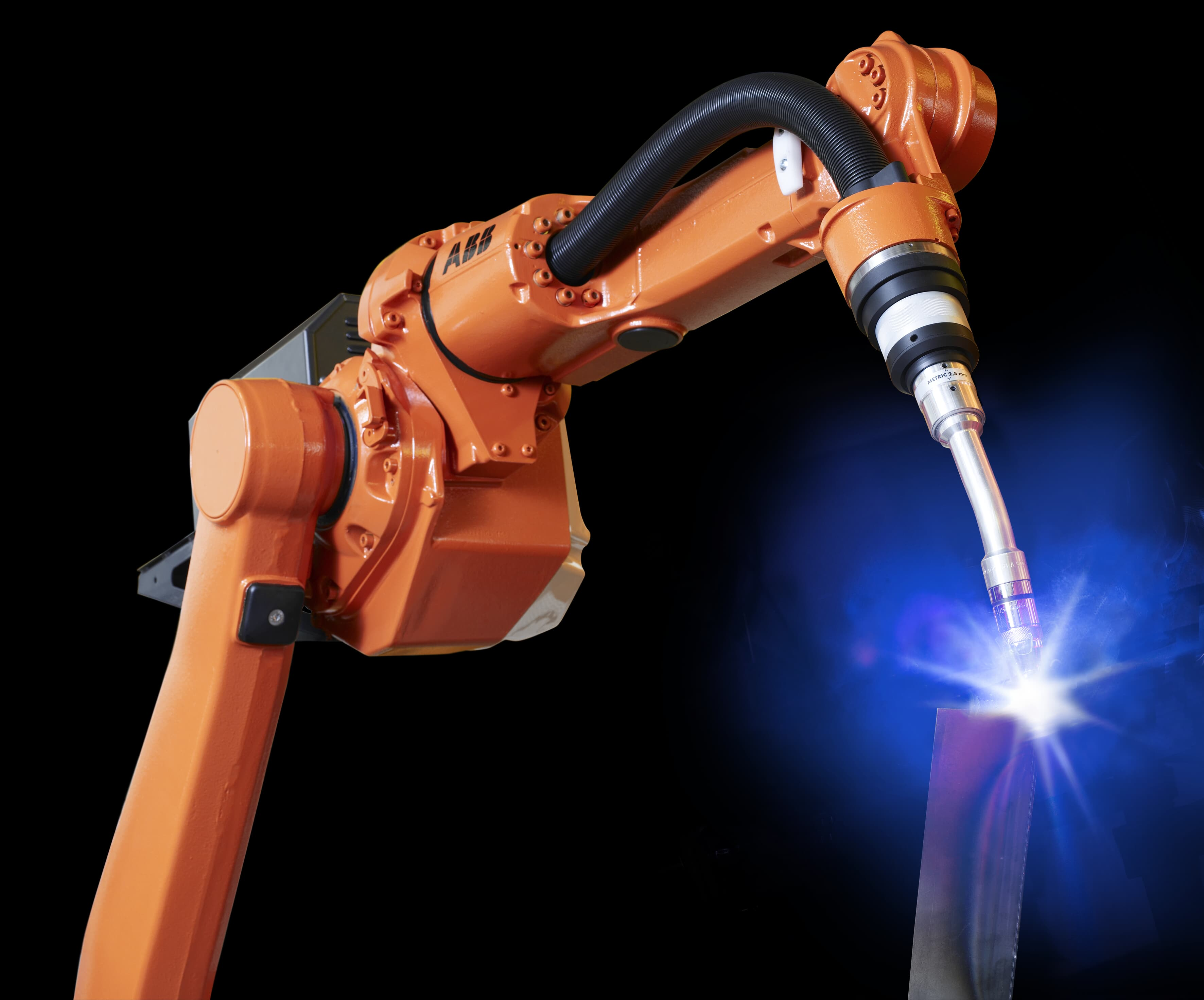 ABB IRB 1600ID industrial robot for Arc Welding