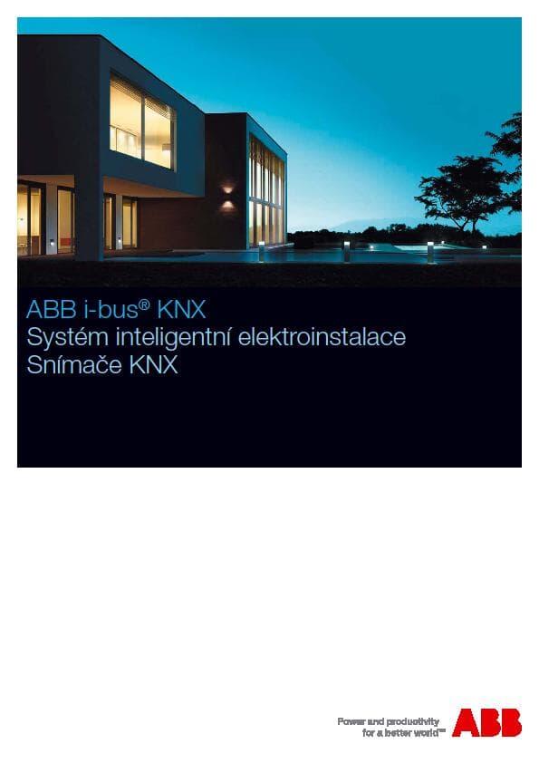 Inteligentní elektroinstalace - Snímače KNX
