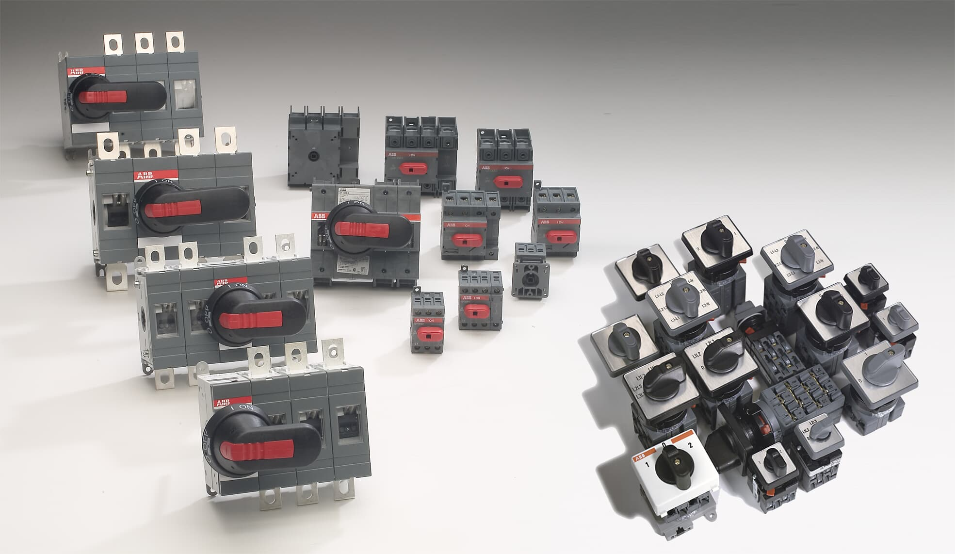 Switch-disconnectors and cam switches