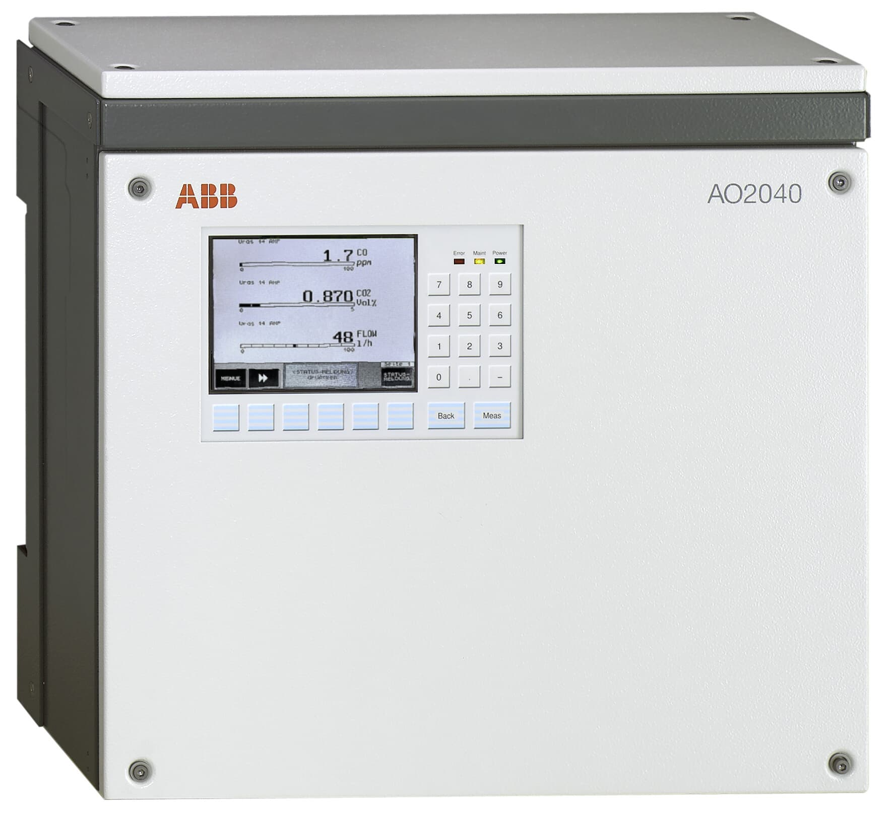 Wall mounted version of AO2000 series