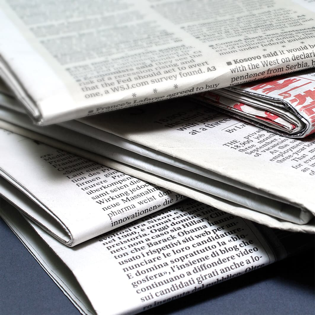 Solutions for newspaper printing