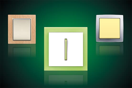 Domovní elektroinstalační materiál