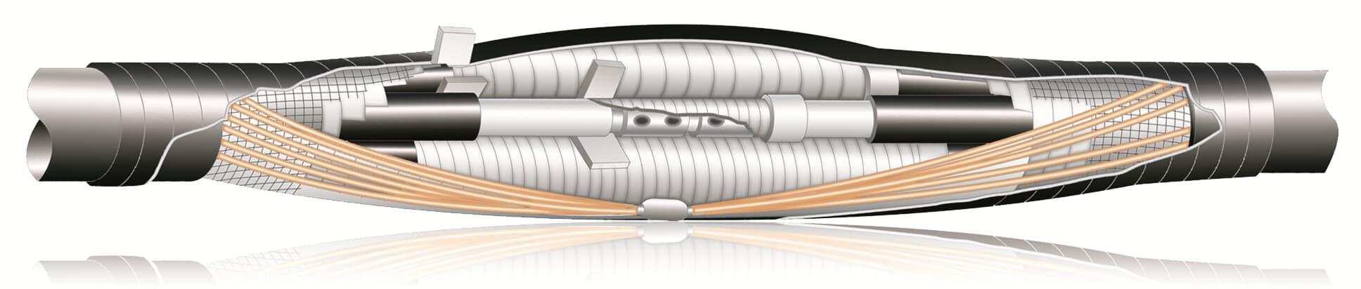 Empalme de cables encintado, SMXB