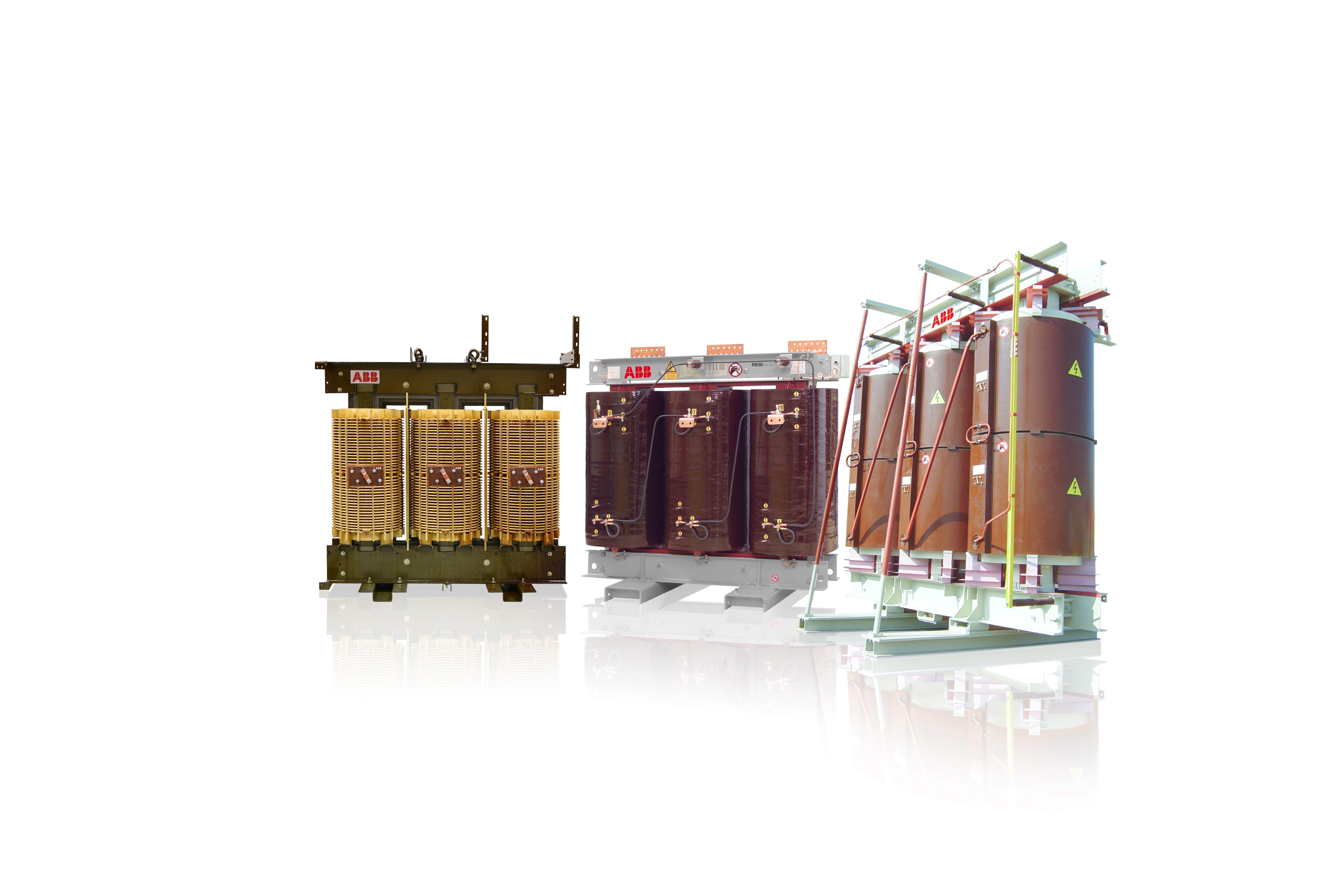 Suché transformátory