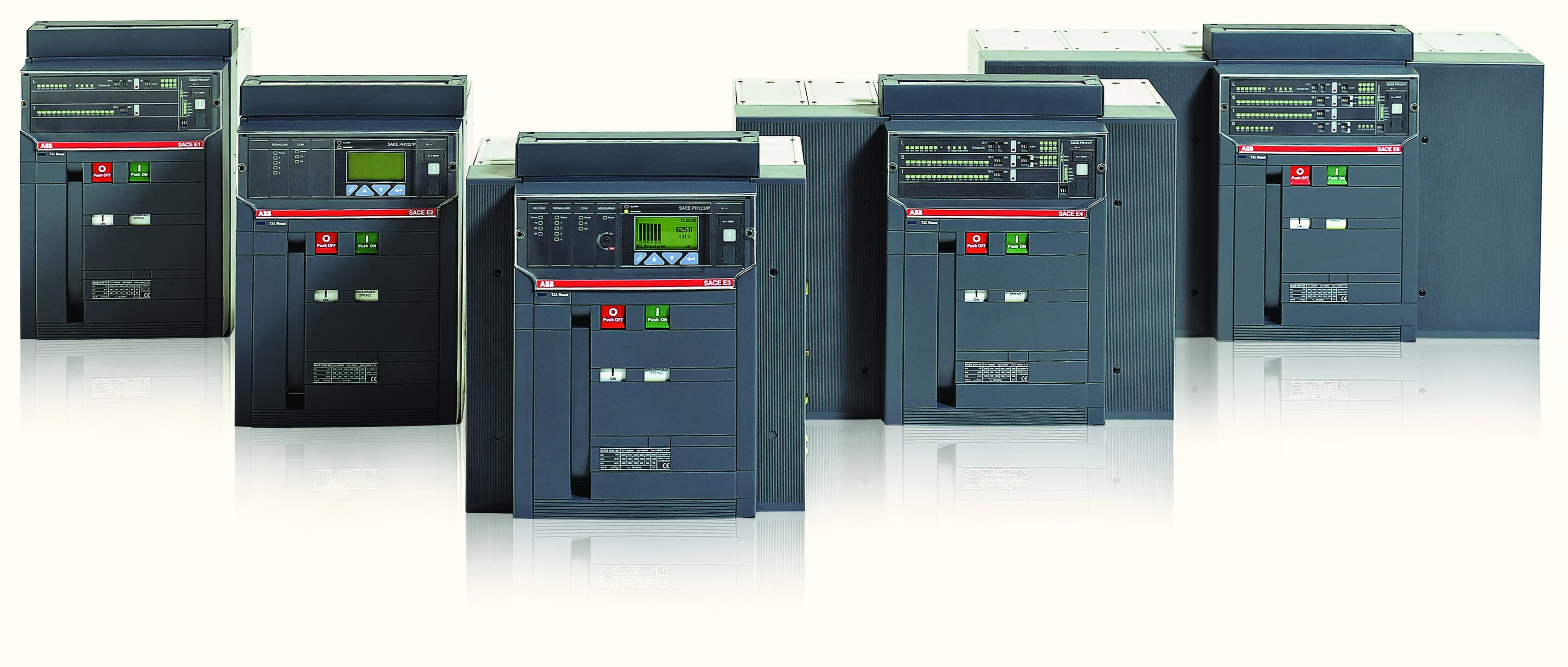 Interruptores automáticos de bastidor abierto Emax
