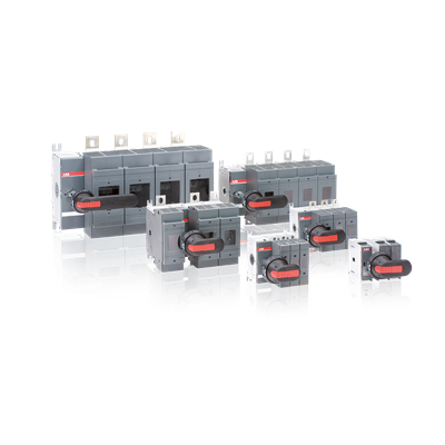 Manual operated switch fuses