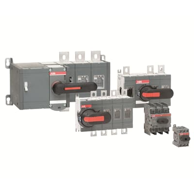 Manual operated switch-disconnectors