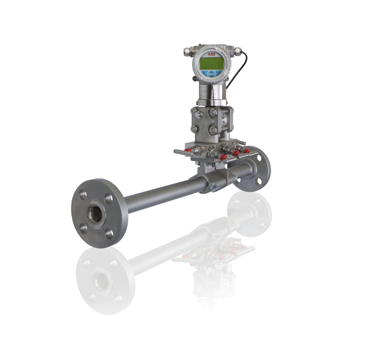 Compact integral orifice flowmeter