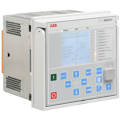 Feeder protection and control REF615 IEC - Feeder protection and control  (Numerical relays)   ABB