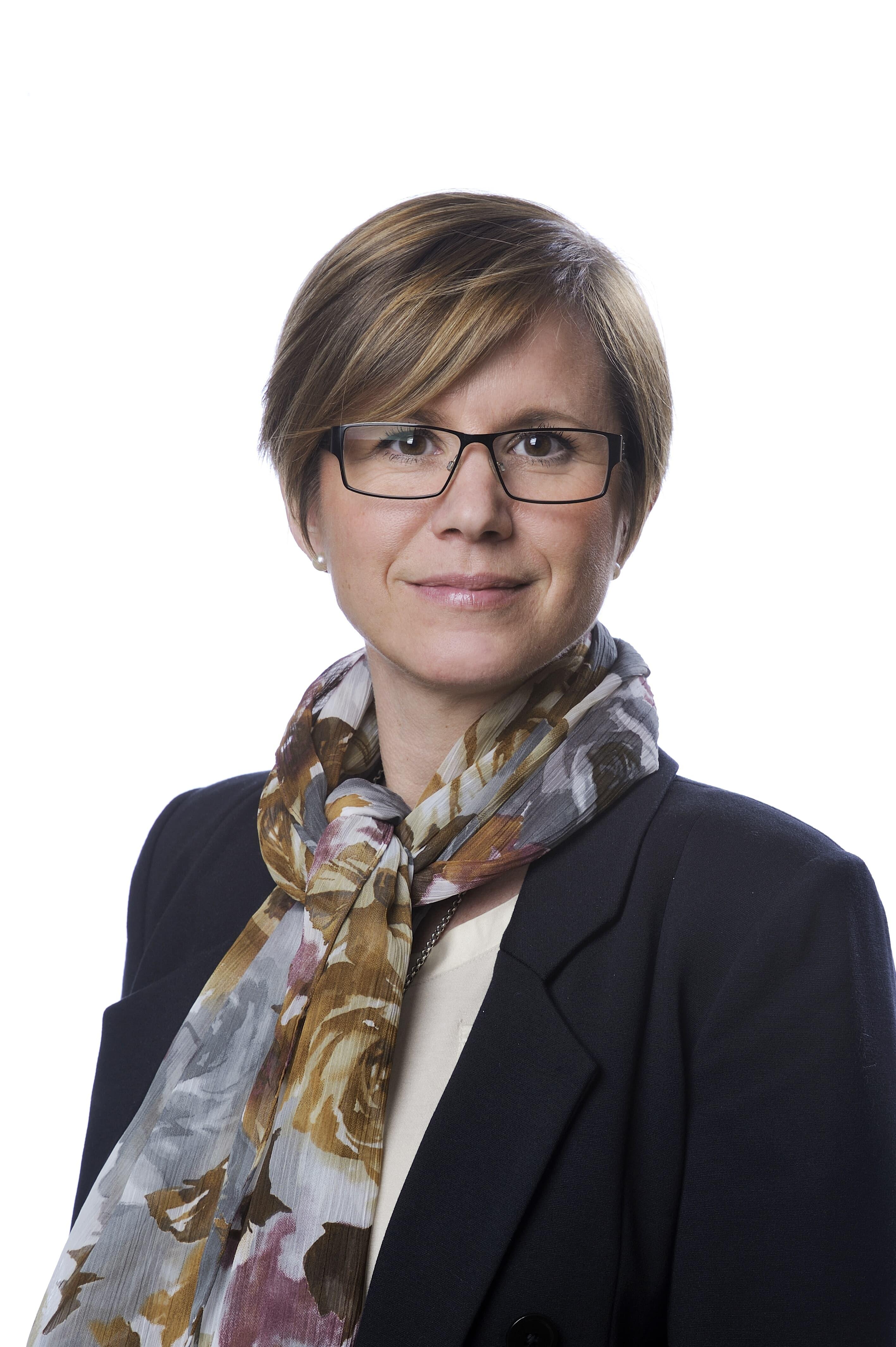 Suzanne Lagerholm, kommunikationsdirektör ABB Sverige