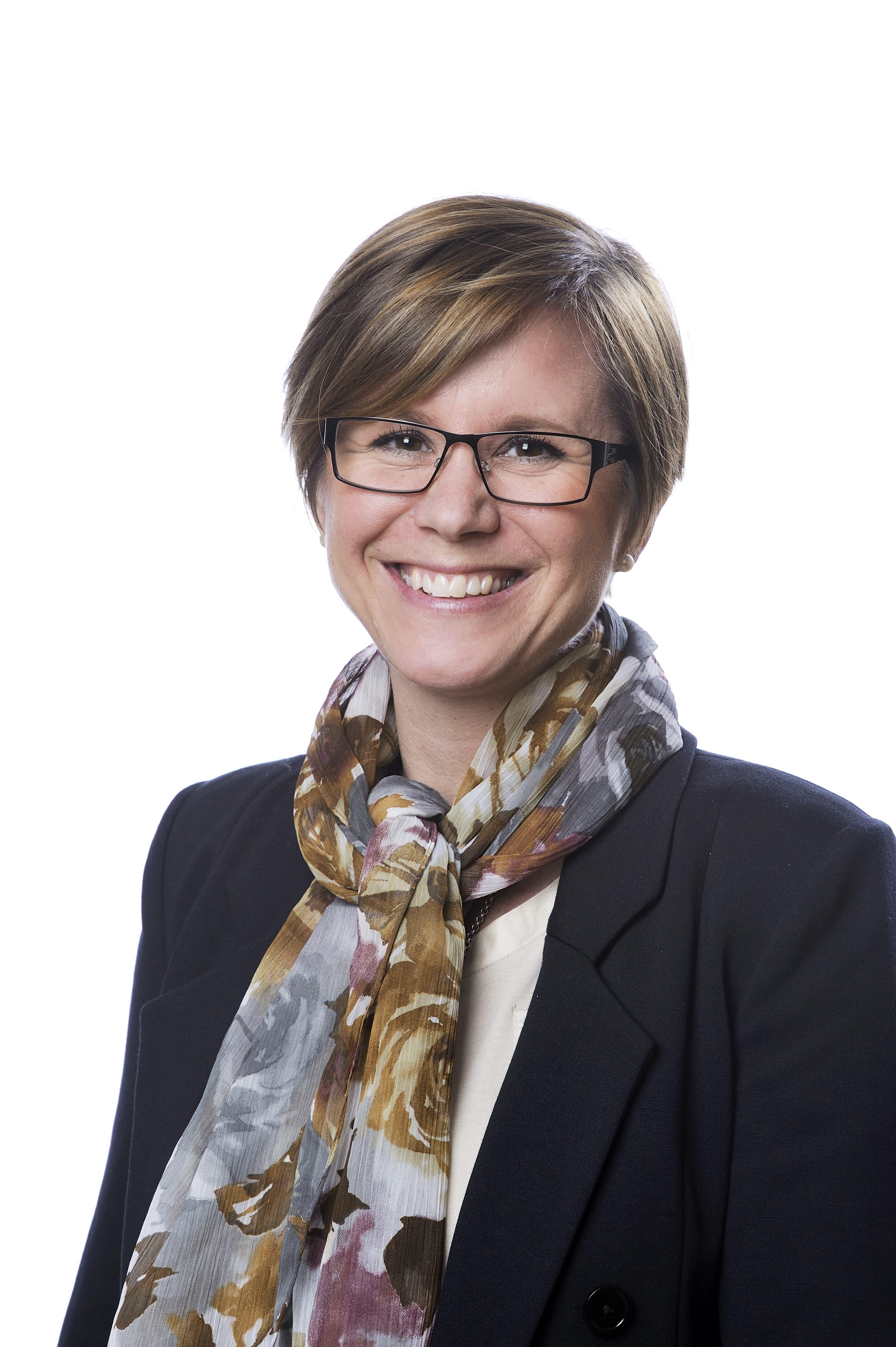 Suzanne Lagerholm, kommunikationsdirektör, ABB Sverige