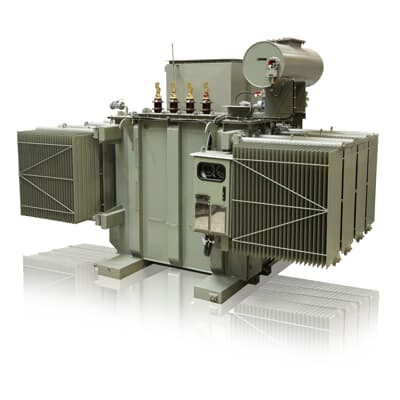 Large distribution transformers (2,500-10,000 kVA ONAN)