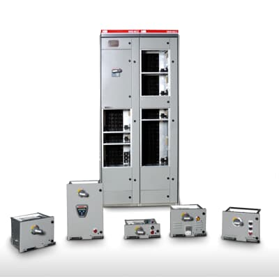 Mns mcc low voltage switchgear abb for Low voltage motor control