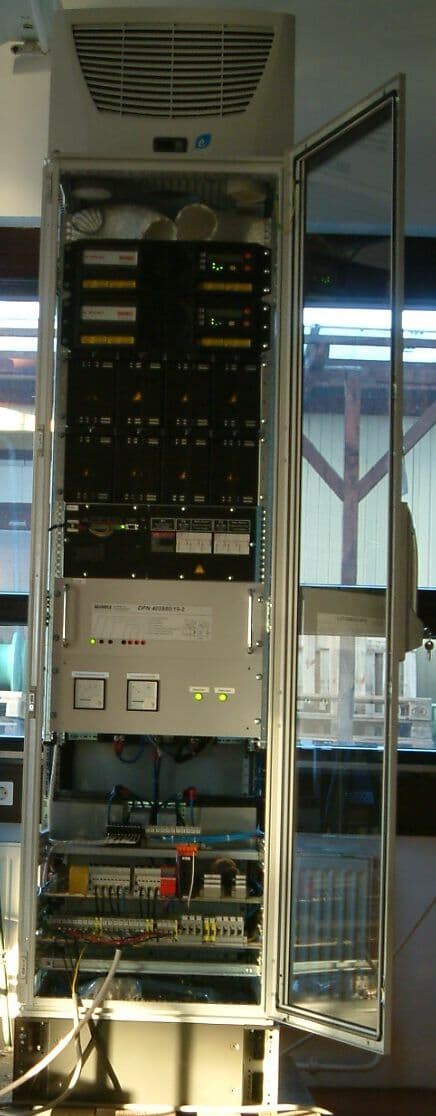 w hrle system solution based on abb ups for wastewater business