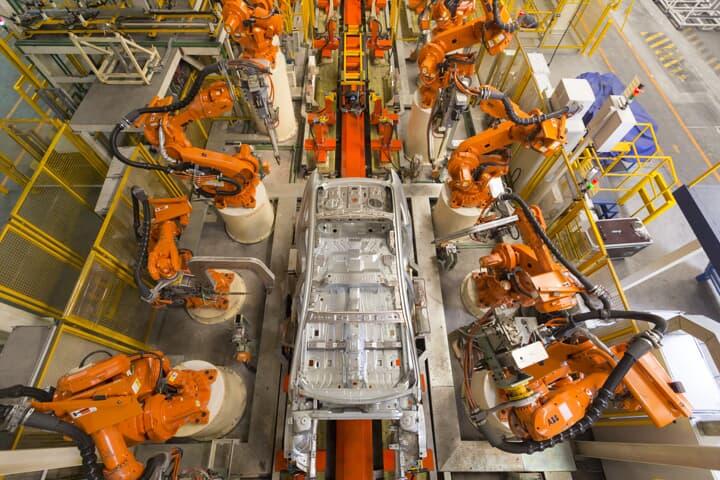 Car Manufacturing Robots Price