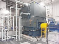 ABB Synchronous condenser at site, operated by Hydro-Quebec