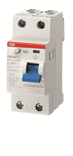ABB F202A-25/0.03 110V
