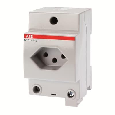 socket outlets modular din rail components modular din rail products abb. Black Bedroom Furniture Sets. Home Design Ideas