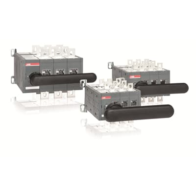 Manual operated bypass switches
