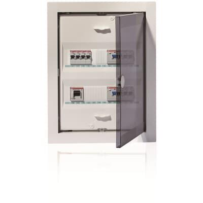 UK 500 empotrado con puerta metálica IP30