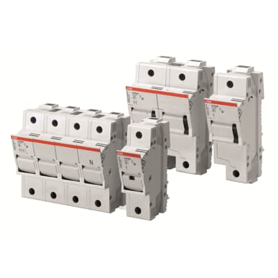 [GJFJ_338]  E 90 Range of Fuse Disconnectors and Fuse Holders - Protection and Safety  devices (Modular DIN-Rail products   ABB)   Sealed Fuse Box Circuit 3      new.abb.com