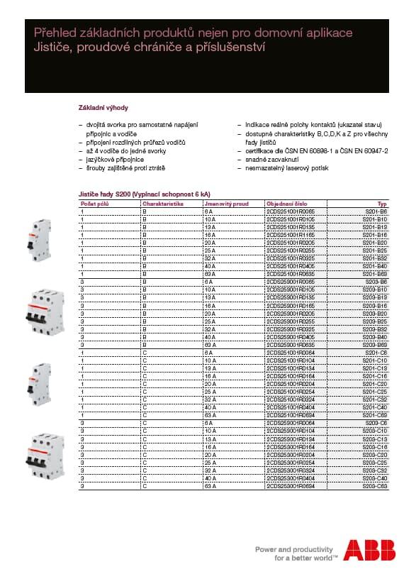 Přehled základních produktů S200 a F200