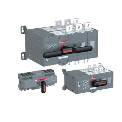 Motor operated change-over switches