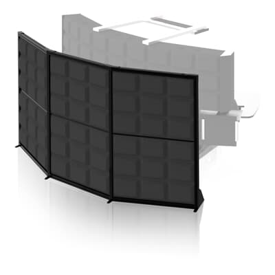 Room Dividers And Noise Dampeners For Control Rooms Screen Wall
