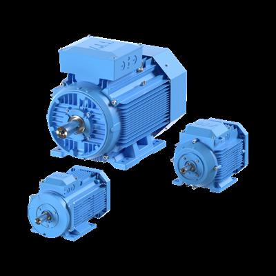 IE2-prosessimoottorit (alumiini)