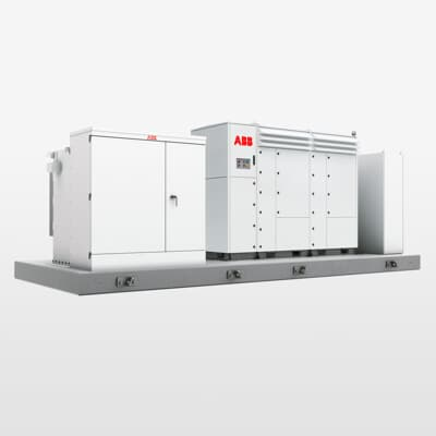 ABB compact skid for US market, PVS980-CS-US