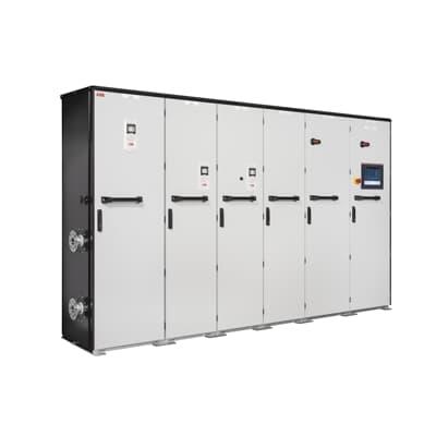ACS880-37LC liquid cooled cabinet-built ultra-low harmonic drive