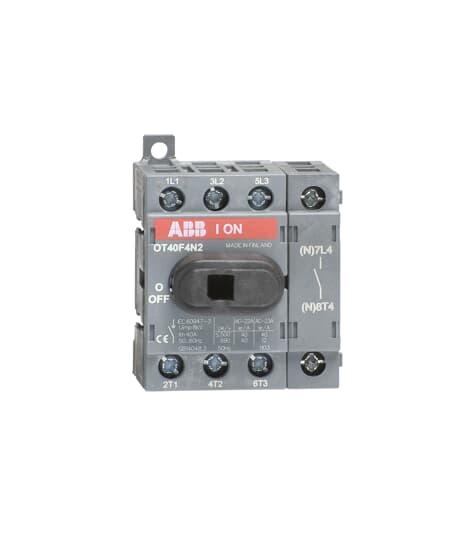 ABB OT40F4N2 DIS SW, 4-P, 40A/600V,