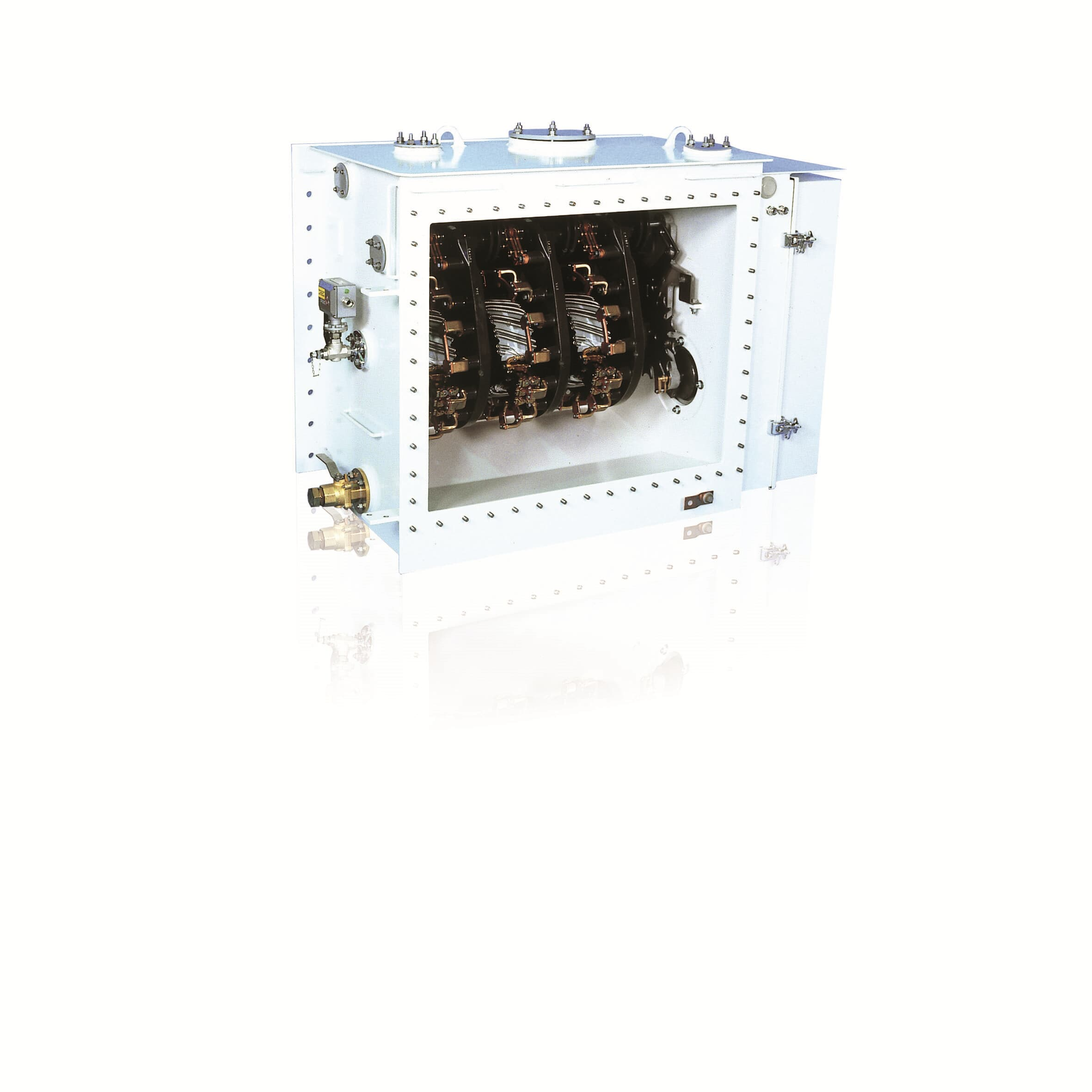 Tipo UZ (on-tank) 145 kV y 110 MVA w/ motor-drive BUF3